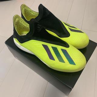 アディダス(adidas)のadidas X トレーニングシューズ 18+(シューズ)