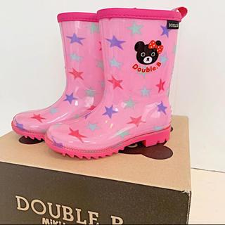 ダブルビー(DOUBLE.B)の☆らむりあ様専用☆DOUBLE.B 長靴 レインブーツ 16cm(長靴/レインシューズ)