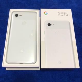 ANDROID - 新品未使用 SIMフリー pixel3 XL 128GB ホワイト G013D