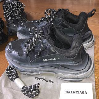 Balenciaga - BALENCIAGA triple s オールブラック