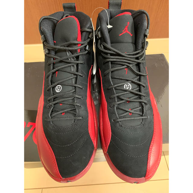 NIKE(ナイキ)のナイキ エアジョーダン 12 レトロ フル ゲーム  US10 28cm メンズの靴/シューズ(スニーカー)の商品写真