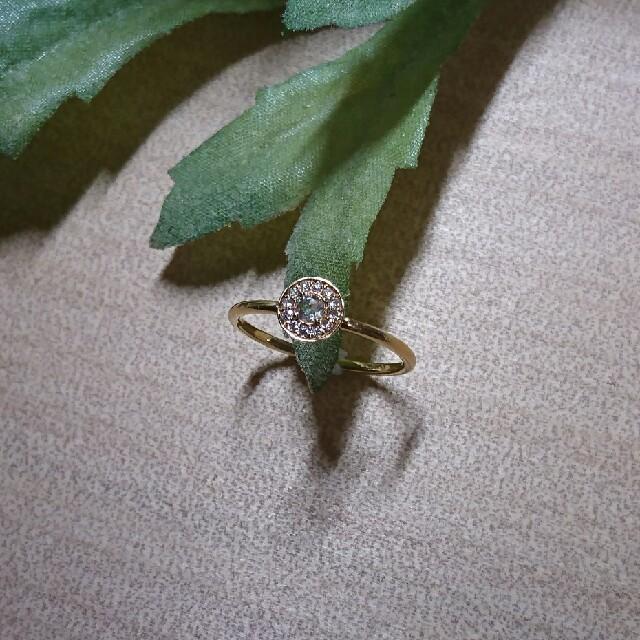 AHKAH(アーカー)の専用です!オレフィーチェ ビジューリング  レディースのアクセサリー(リング(指輪))の商品写真