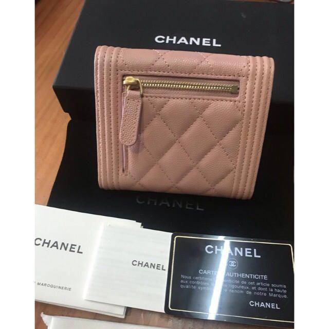 CHANEL(シャネル)のシャネル 折り畳み財布 レディースのファッション小物(財布)の商品写真