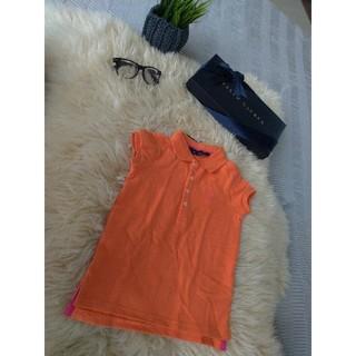 Ralph Lauren - ラルフローレン ポロシャツ 110 オレンジ×ピンク