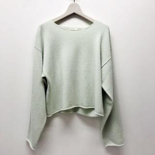Chloe - 【美品】クロエ ニット セーター カシミア100% ミントグリーン XS
