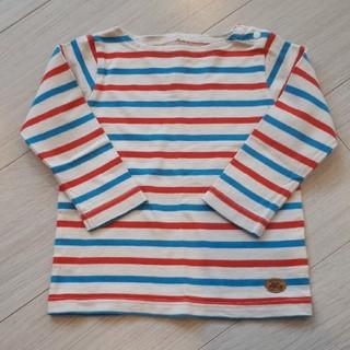 マーキーズ(MARKEY'S)のマーキーズ ボーダーロンT 90センチ(Tシャツ/カットソー)