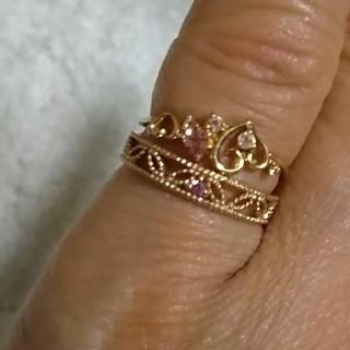 k18ピンクゴールド セット(リング(指輪))
