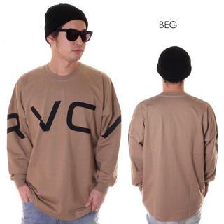 RVCA - RVCA RVCA FAKE RVCA L/S ルーカビックロゴロンT