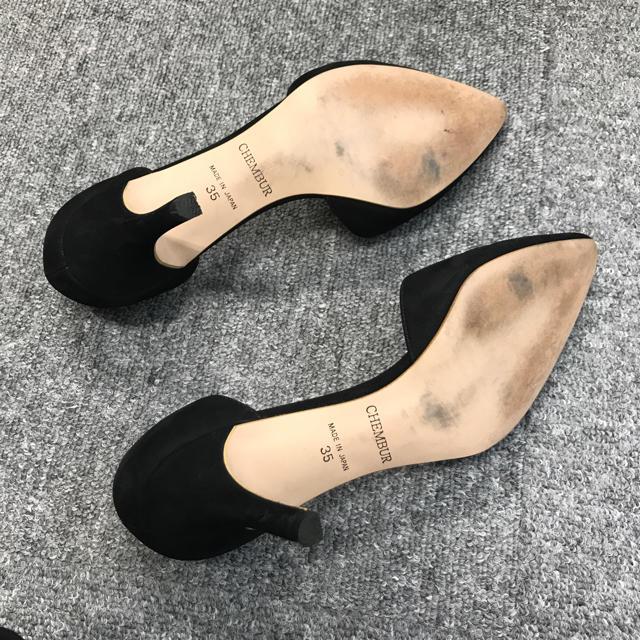 FABIO RUSCONI(ファビオルスコーニ)のCHEMBER チェンバー パンプス 35  レディースの靴/シューズ(ハイヒール/パンプス)の商品写真
