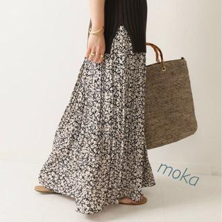 Noble♡2019ニュアンスプリーツスカート♡ネイビー
