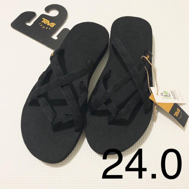 Teva(テバ)の新品タグ付き テバ teva オロワフ サンダル 24.0 レディースの靴/シューズ(サンダル)の商品写真