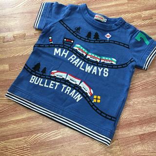 mikihouse - ミキハウス 電車Tシャツ 80
