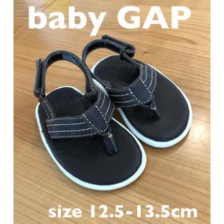 babyGAP - 【美品】ベビーギャップ babygap サンダル