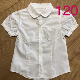 西松屋 - 白シャツ120