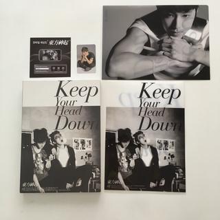 トウホウシンキ(東方神起)の東方神起 ウェ(Keep Your Head Down)CDクリアファイル値下げ(K-POP/アジア)