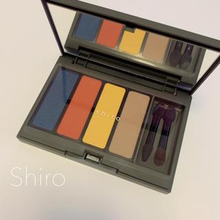 shiro - 新品 未使用 shiro ジンジャーアイシャドウ パレット