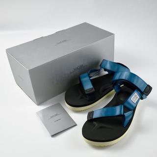 スイコック(suicoke)の新品/本物☆SUICOKE DEPA OG-022 サンダル BLUE(サンダル)