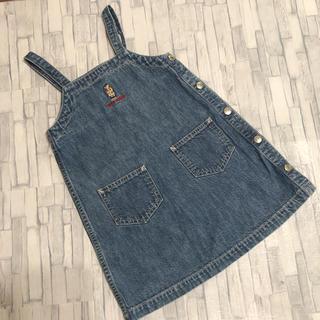 ラルフローレン(Ralph Lauren)のラルフローレン デニム ジャンパースカート 100(ワンピース)