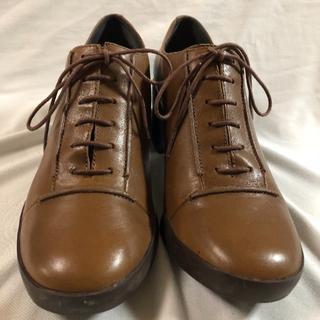 カンペール(CAMPER)の美品 カンペール レースアップヒール(ローファー/革靴)