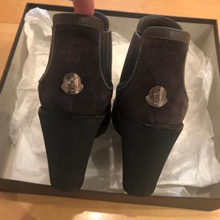 モンクレール(MONCLER)のモンクレール   正規品  22.5cm    グレー  (ブーツ)