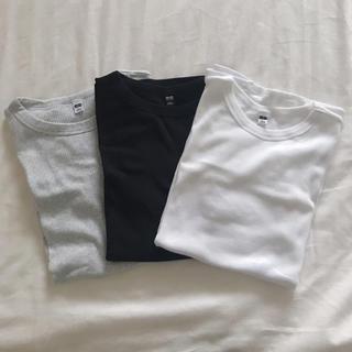 UNIQLO - UNIQLO リブTシャツ