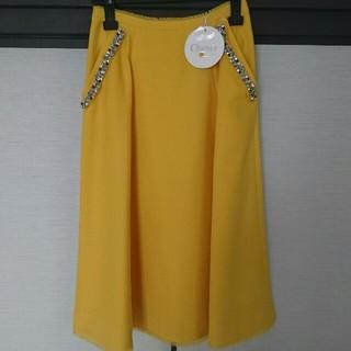 Chesty - ビジュー付きスカート
