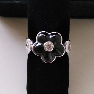 オニキス&ダイヤモンドリング(リング(指輪))