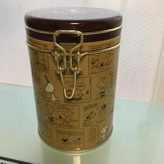 スヌーピー(SNOOPY)のスヌーピー  PEANUTS キャニスター缶(容器)