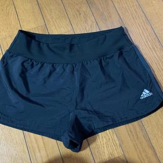 adidas - adidas短パン黒 Lsizeショートパンツヨガジャザサイズランニング ジム