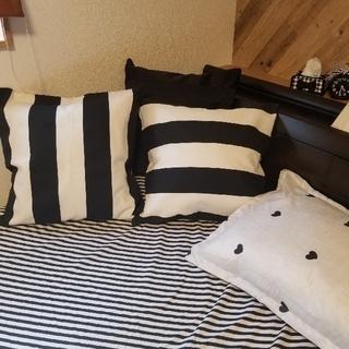 イケア(IKEA)のクッションカバー  2枚セット IKEA(クッションカバー)