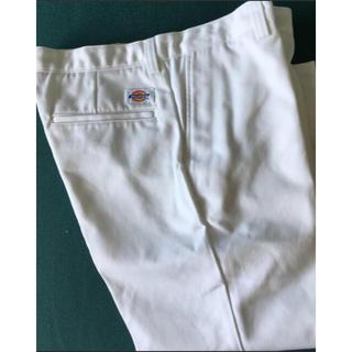 ディッキーズ(Dickies)の【新品未使用】Dickies ホワイトパンツ size27(カジュアルパンツ)