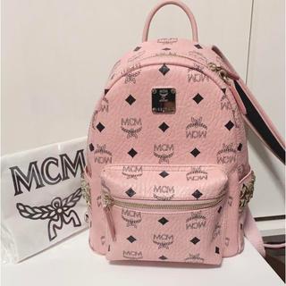 MCM - mcm リュック sサイズ ピンク