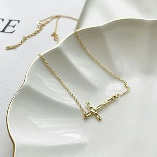 ビューティアンドユースユナイテッドアローズ(BEAUTY&YOUTH UNITED ARROWS)のインポート silver 925 cross necklace(ネックレス)