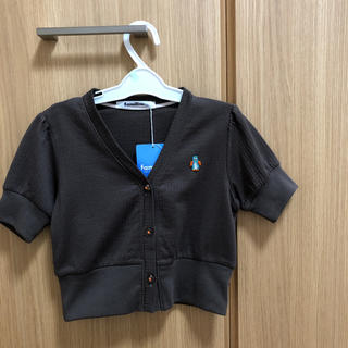 familiar - 【新品&未使用】ファミリア 半袖カーディガン