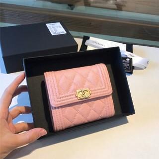 CHANEL - CHANEL 財布  三つ折り  レデイース  3つ折り財布  ピンク  小財布