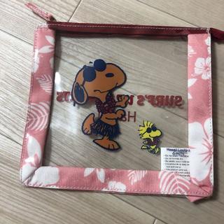スヌーピー(SNOOPY)の日焼けスヌーピー ハワイ限定 レア!(ポーチ)