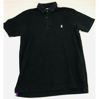 グリーンレーベルリラクシング(green label relaxing)のユナイテッドアローズ グリーンレーベル リラクシング ポロシャツ ブラック S(ポロシャツ)