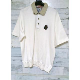マックレガー(McGREGOR)のセール 90s レア McGREGOR マックレガー ポロシャツ ホワイト(ポロシャツ)