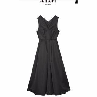 アメリヴィンテージ(Ameri VINTAGE)の¥18,900 Ameriドレス  LADY TUCK FLARE DRESS(ロングドレス)