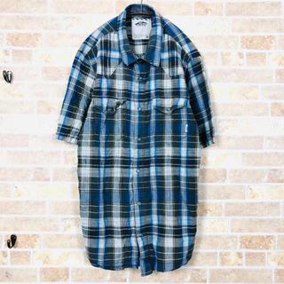 ヴァンズ(VANS)のMsize VANS check western S/S shirt(シャツ)