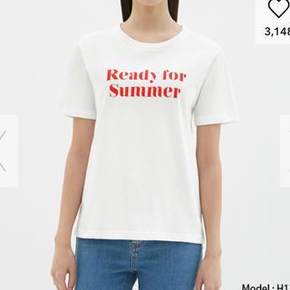 ジーユー(GU)のgu グラフィックTシャツ(Tシャツ(半袖/袖なし))