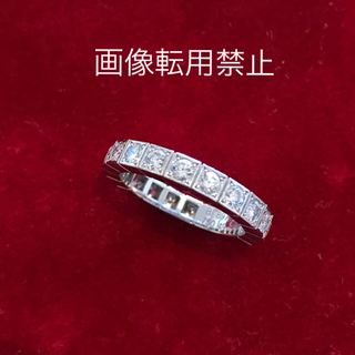 Cartier - 【証明書有】Cartier カルティエ  ラニエール フルダイヤ リング 9号