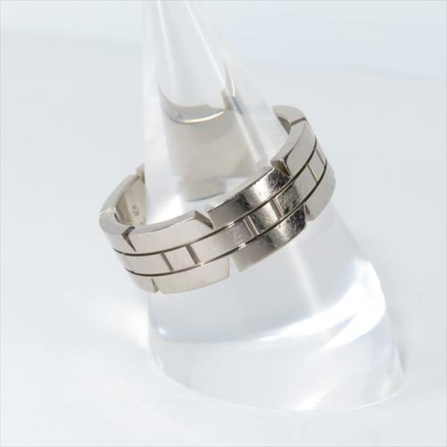 Cartier(カルティエ)のカルティエ タンクフランセーズリング 750WG 60号 レディースのアクセサリー(リング(指輪))の商品写真