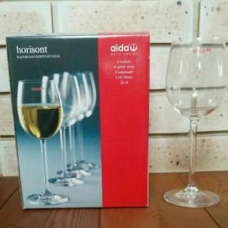 アイーダ(AIDA)の未使用   クリスタル製  白ワイングラス    (グラス/カップ)
