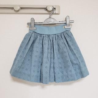PETIT BATEAU - 【新品】プチバトー アングレーズ刺繍スカート 5ans
