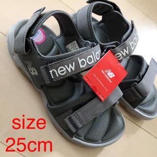ニューバランス(New Balance)の未使用 サンダル NB ニューバランス サイズ25cm(スニーカー)