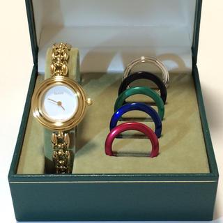 グッチ(Gucci)の1.美品 グッチ GUCCI 時計 1100 チェンジベゼル(腕時計)