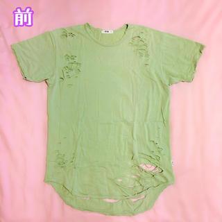 【EPTM】ダメージTシャツ Sサイズ(Tシャツ/カットソー(半袖/袖なし))