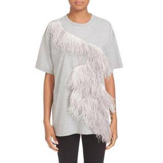 ヌメロヴェントゥーノ(N°21)のN°21 ヌメロヴェントゥーノ フェザー トップス Tシャツ(Tシャツ(半袖/袖なし))