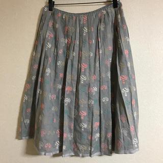 mina perhonen - 未使用  ミナペルホネン   polka  刺繍  スカート